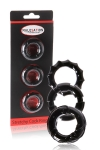 Set 3 cockrings Stretchy - Malesation