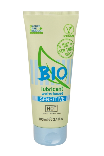 Lubrifiant HOT BIO Sensitive 100 ml